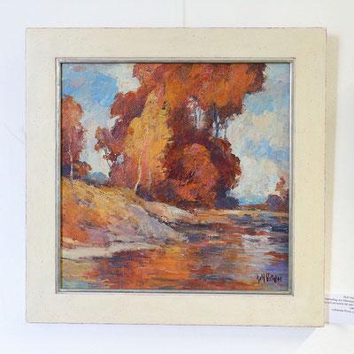 """Rolf Heider: """"Herbsttag am Altwasser"""""""