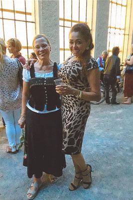 Chrissie Elsing und Vilma Sousa-Dimpfl