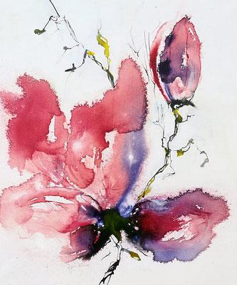 """""""Magnolie"""", Airbrush"""