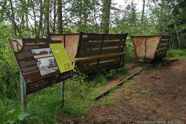 Die frühere Torfbahn