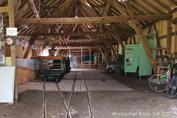 Bahnbahnhof und Museum im ehemaligen Zeiler Torfwerk