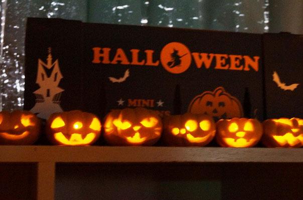 かぼちゃランタン点灯式