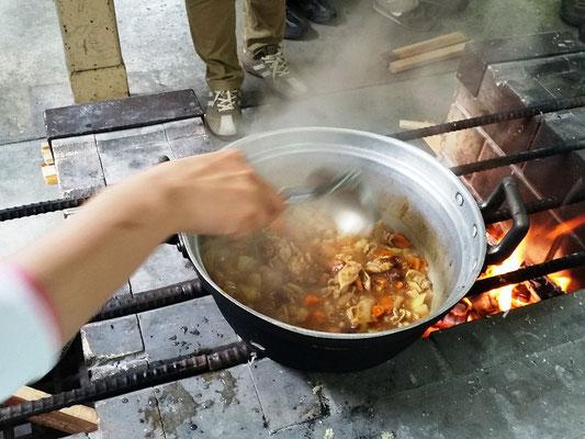野外炊事4