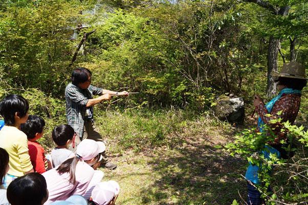 子ども自然遊び6