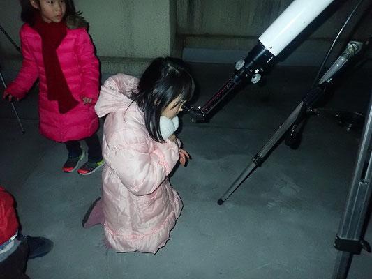 望遠鏡で観望