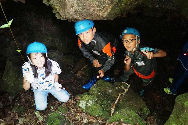 洞窟探検2