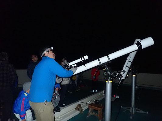 望遠鏡観察