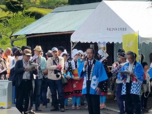 小長井市長の挨拶