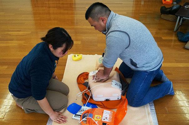 AED操作講習