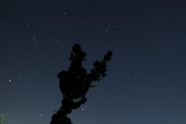 暗闇の望遠鏡