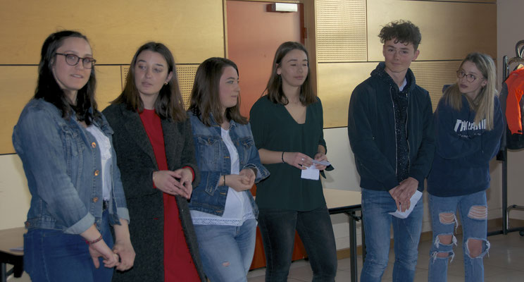 ClubMèd : Margaux, Alix, Chloé, Tessa, Timothé, Anna