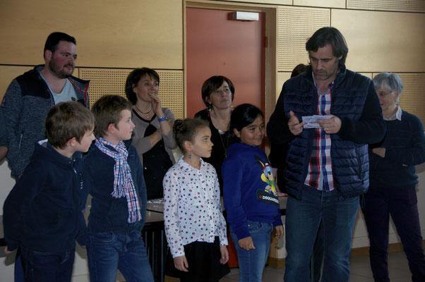 Gilles : Oscar, Gabin, Louisa, Soleiha
