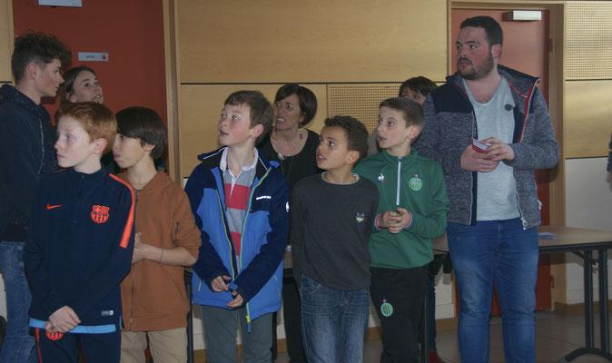 Antoine : Mathieu, Paul-Loup, Guillaume, Jessim, Axel