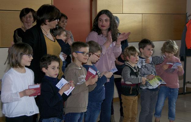 Sylvie et Léa : Lise, Mael, Matteo, Mattis, Louis, Sydney et Emile