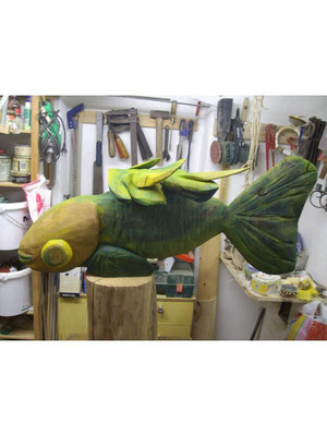 Pardiesfisch 1 m aus Birne 375,- €