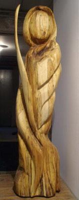 Die Wächterin 1,15 m aus Birke 480,-€ verkauft