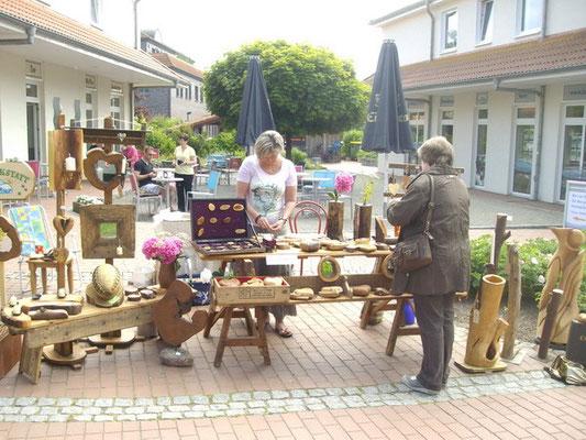 Kunsthandwerkermarkt in Boltenhagen