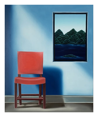 The Empty Chair #1, 73 x 60 cm, Oil on canvas, 2021