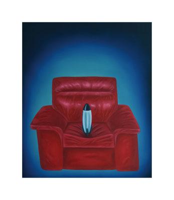 Rocket Party #1, 2020, Oil on canvas, 55 x 46 cm