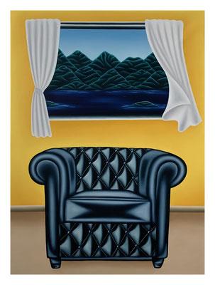 Nobody's Self-portrait #2, 100 x 73 cm, Oil on canvas 2021