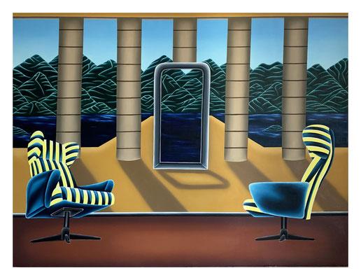 Nobody's Memories, 150 x 200 cm, Oil on linen, 2021