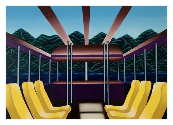 Nobody's Journey, 110 x 160 cm, Oil on canvas, 2021