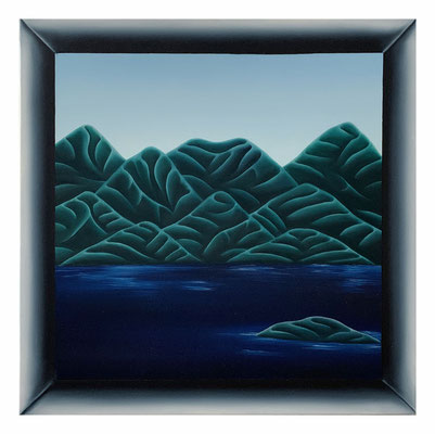 10.38, 40 x 40 cm, Oil on canvas, 2021