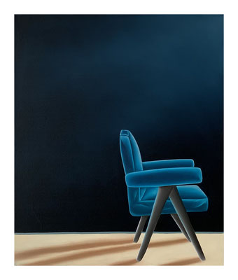 The Empty Chair #2, 60 x 50 cm, Oil on canvas, 2021