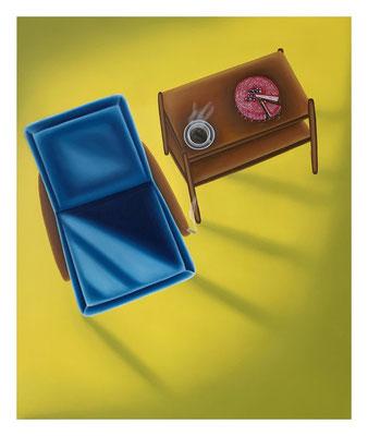Nobody's Breakfast, 60 x 50 cm, Oil on canvas, 2021