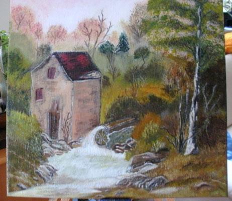Die alte Mühle 30 x 30 cm