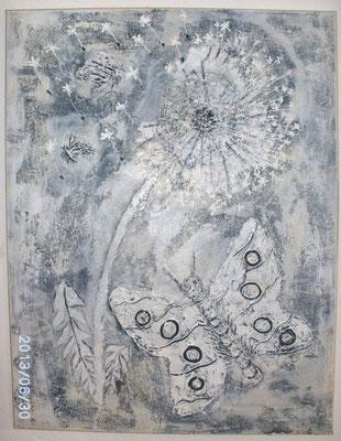 Pusteblume 58 x 76 cm