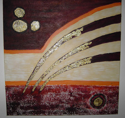 Kometenschweif 50 x 50 cm