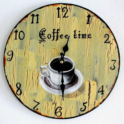 Nostalgische Uhr 30 cm