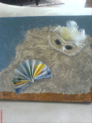 Maskenball in Venedig 24 x 30 cm