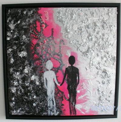 Licht und  Schatten 50 x 50 cm