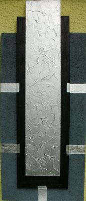 Big Silver 50 x 120 cm