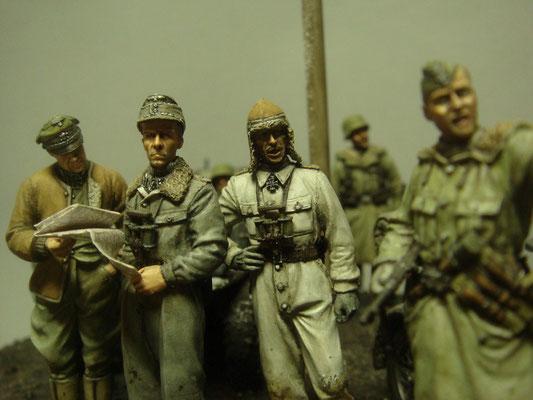 フリッツヴィット大佐 ヨッヘンパイパー少佐 クルトマイヤー中佐
