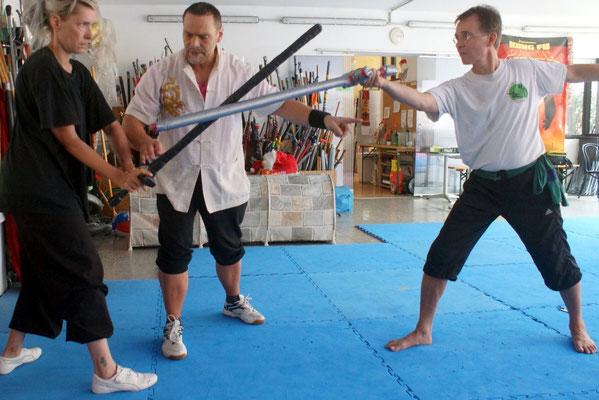 Waffenkampf mit dem Schwert