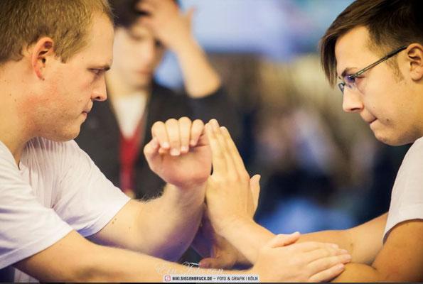 Kung Fu Köln Cup: Wettkampf im Taiji (Schiebende Hände) in der Jing Wu Köln