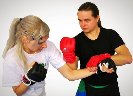 effektive Kampftechniken sind eine der Grundlagen des traditionellen Kung Fu