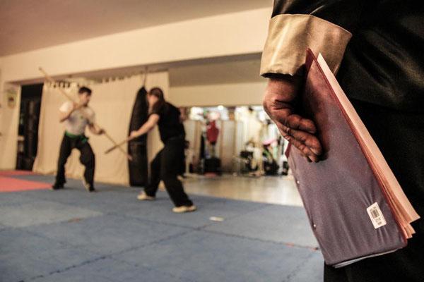 traditionelle Formen überliefern die Kung Fu Techniken über Generationen