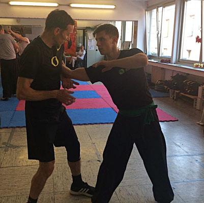 Kung Fu Hebeltechniken