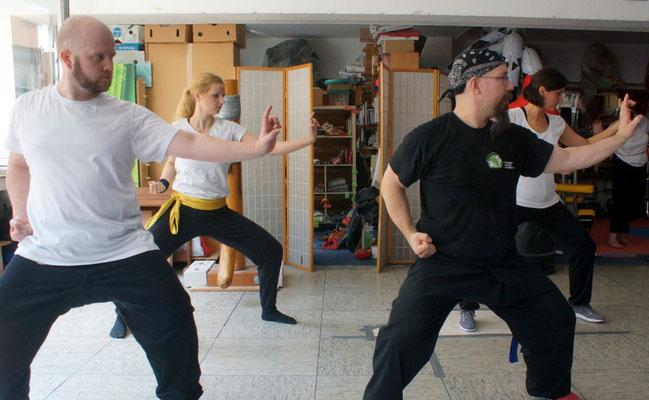 Lehrgänge: Süd Shaolin