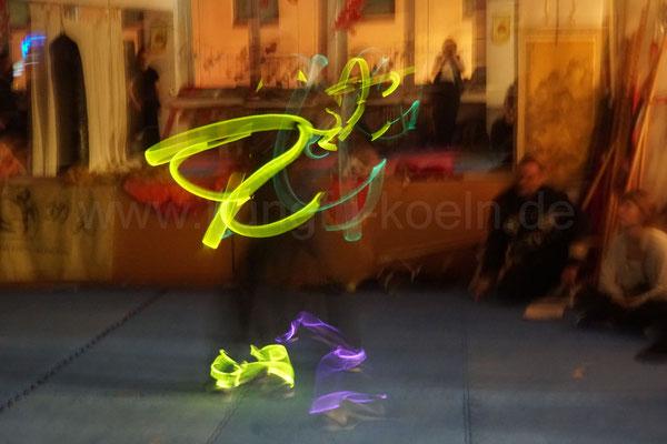 Kung Fu Leuchtshow
