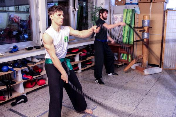 Krafttraining für Kampfsport / Kampfkunst: Krafttrainingsseile