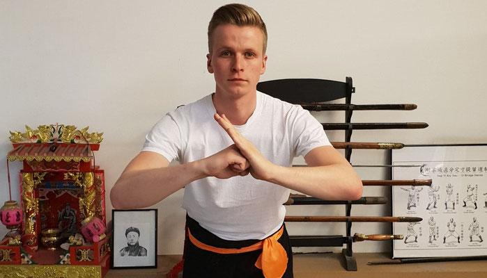 Kung Fu Gruß
