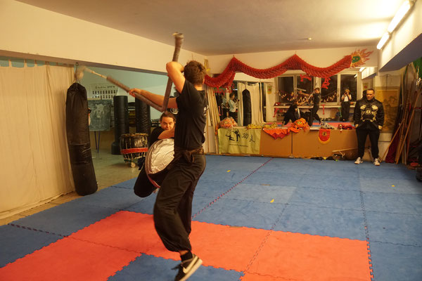 Kung Fu Waffenkampf