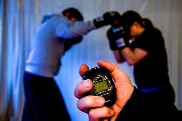 Kampftraining zur Vorbereitung auf Meisterschaften