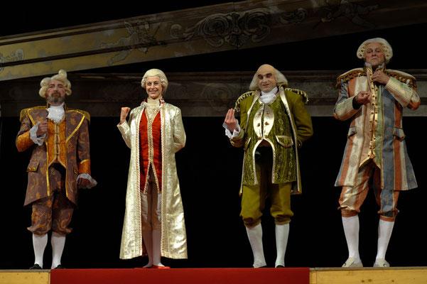 AMADEUS: Manfred Rieger, Cornelia Heilmann, Markus Hennes, Stefan Holm