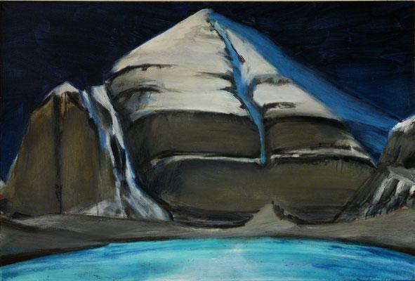 4. Kailash, Acryl auf Leinwand, 60 x 90 cm 2012